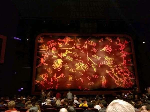 Minskoff Theatre, Abschnitt: Orchestra C, Reihe: P, Platz: 110