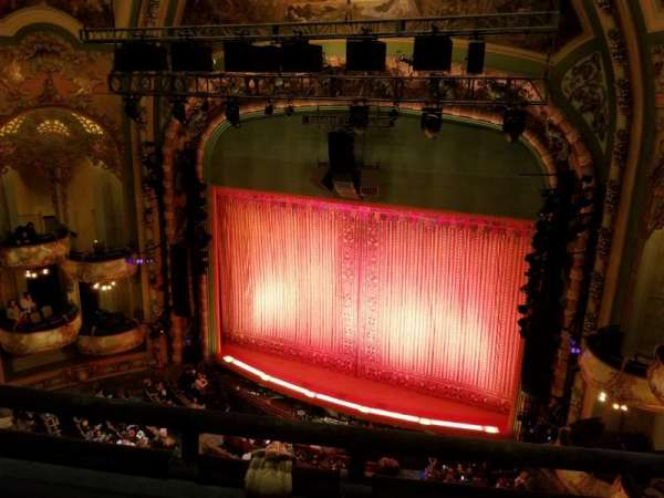 New Amsterdam Theatre, Abschnitt: Balcony R, Reihe: B, Platz: 10