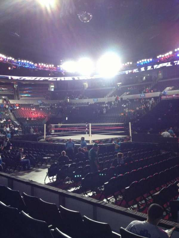 Chesapeake Energy Arena, Abschnitt: 115, Reihe: D, Platz: 1