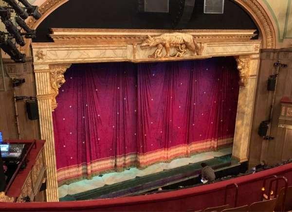 Booth Theatre, Abschnitt: Left Mezzanine, Reihe: G, Platz: 17