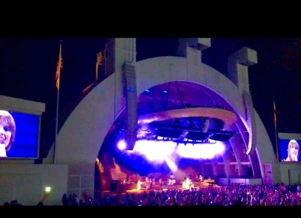 Hollywood Bowl, Abschnitt: E, Reihe: 1, Platz: 11