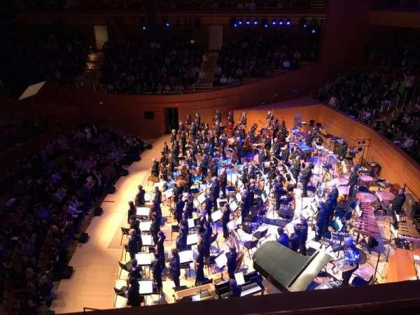 Walt Disney Concert Hall, Abschnitt: Terrace West, Reihe: A, Platz: 24
