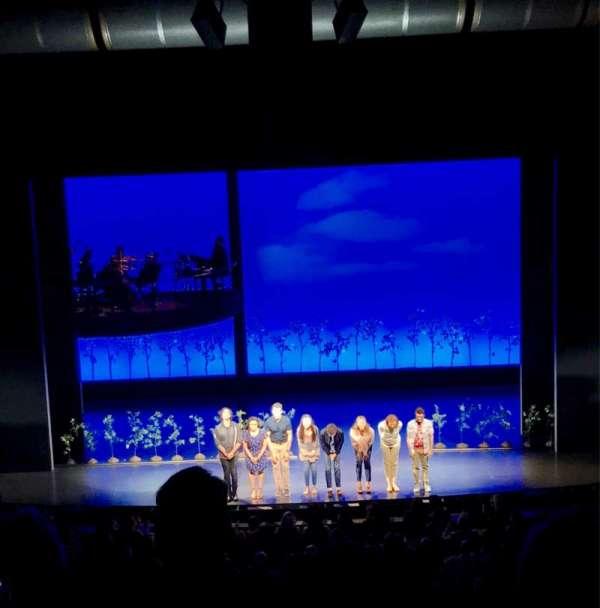 Ahmanson Theatre, Abschnitt: Mezz, Reihe: G, Platz: 26