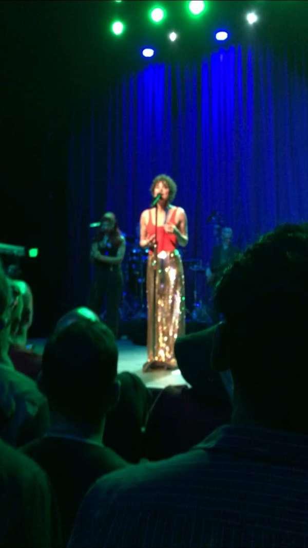 The Fonda Theatre, Abschnitt: GA