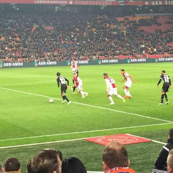 Johan Cruyff Arena, Abschnitt: 106, Reihe: 3, Platz: 176