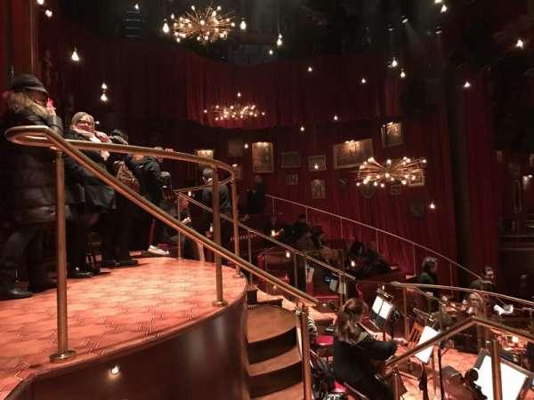 Imperial Theatre, Abschnitt: Onstage, Reihe: BD, Platz: 21