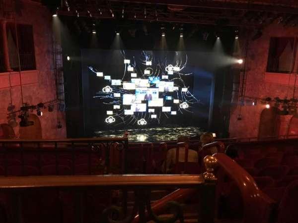 August Wilson Theatre, Abschnitt: Mezzanine, Reihe: H, Platz: 1