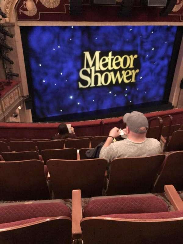 Booth Theatre, Abschnitt: Mezzanine, Reihe: F, Platz: 7
