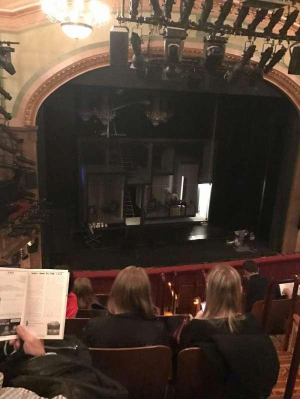 Booth Theatre, Abschnitt: Mezzanine, Reihe: G, Platz: 5