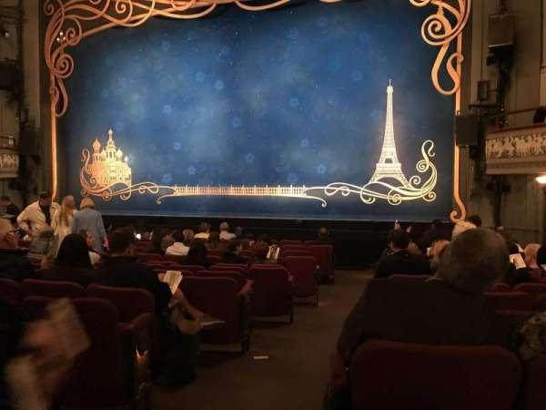 Broadhurst Theatre, Abschnitt: Orchestra, Reihe: N, Platz: 2
