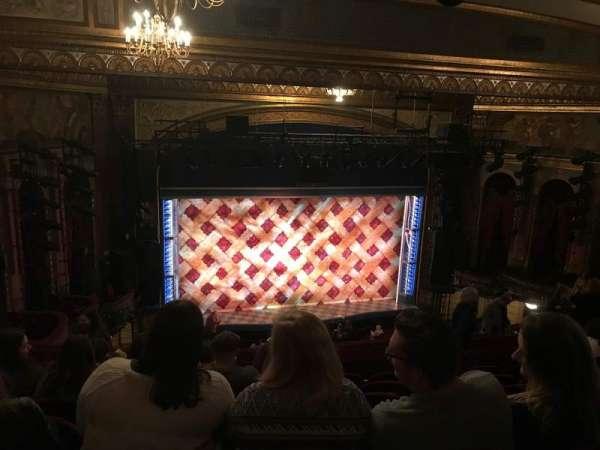 Brooks Atkinson Theatre, Abschnitt: Mezzanine, Reihe: L, Platz: 126