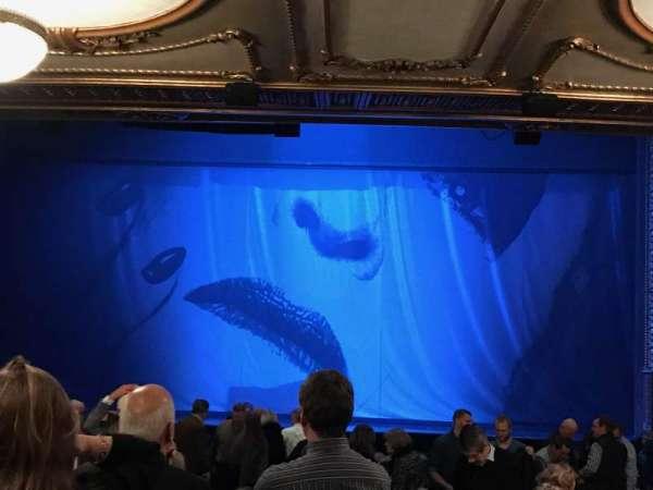 Palace Theatre (Broadway), Abschnitt: Orchestra, Reihe: W, Platz: 108