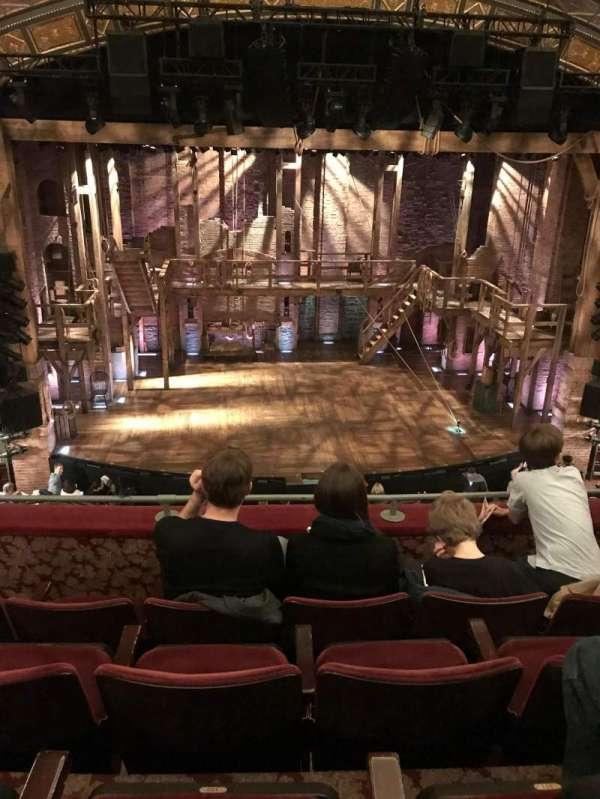 Richard Rodgers Theatre, Abschnitt: Mezzanine, Reihe: D, Platz: 112