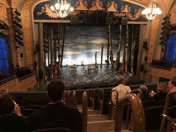Gerald Schoenfeld Theatre, Abschnitt: Mezzanine, Reihe: H, Platz: 1