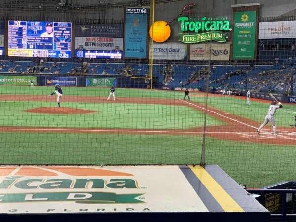 Tropicana Field, Bereich: 111, Reihe: N, Platz: 10