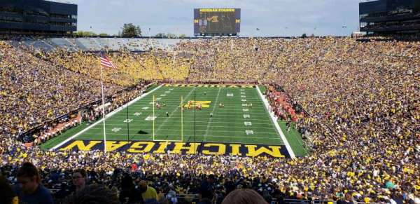 Michigan Stadium, Abschnitt: 11, Reihe: 88, Platz: 13