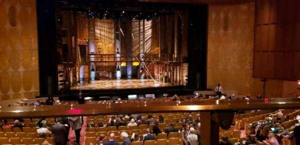 Fisher Theatre, Abschnitt: MZCTR, Reihe: A, Platz: 113
