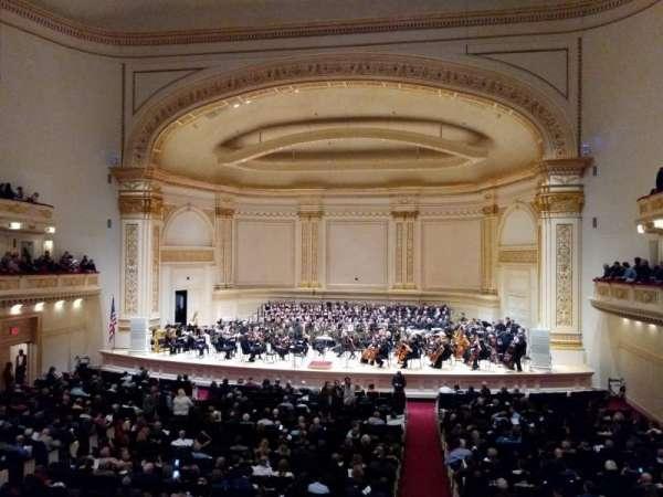 Carnegie Hall, Abschnitt: Box 29, Reihe: 1, Platz: 3
