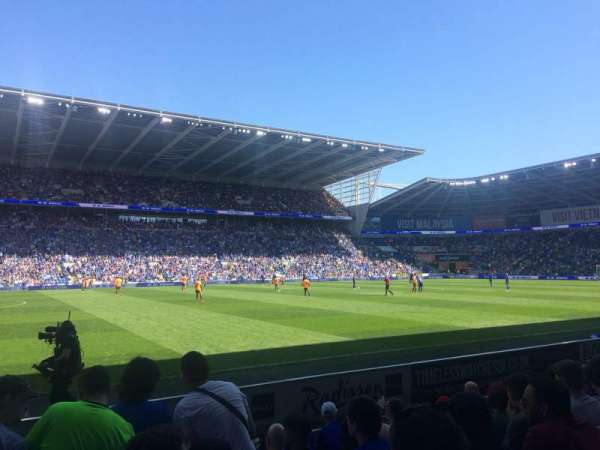 Cardiff City Stadium, Abschnitt: 207, Reihe: G, Platz: 377
