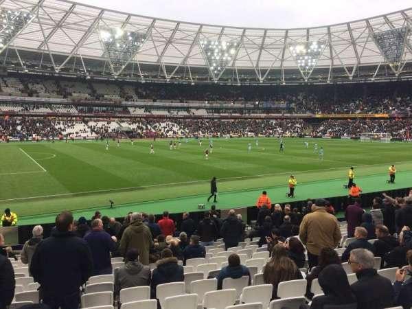 London Stadium, Abschnitt: 133, Reihe: 17, Platz: 346
