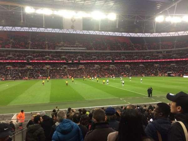 Wembley Stadium, Abschnitt: 102, Reihe: 18, Platz: 67