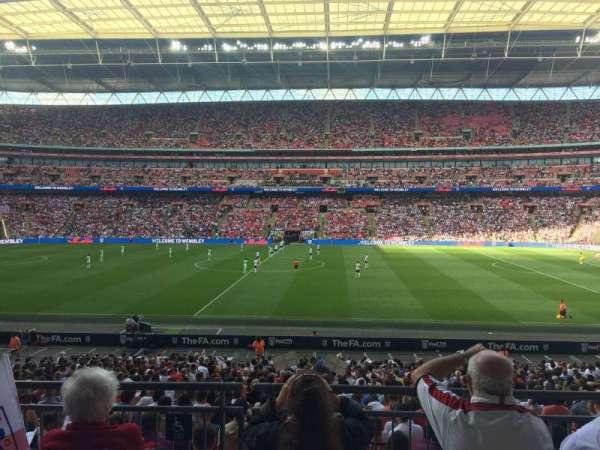 Wembley Stadium, Abschnitt: 122, Reihe: 31, Platz: 299