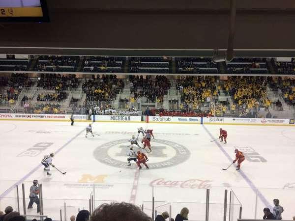 Yost Ice Arena, Abschnitt: 4, Reihe: 16, Platz: 4