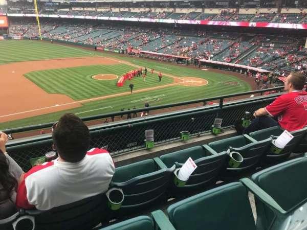 Angel Stadium, Abschnitt: C316, Reihe: C, Platz: 1