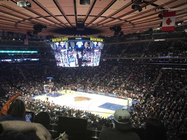 Madison Square Garden, Abschnitt: 227, Reihe: 3, Platz: 8