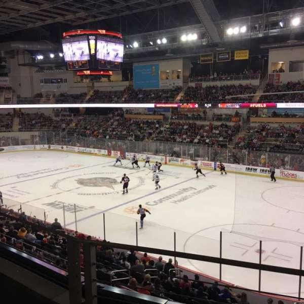 Indiana Farmers Coliseum, Abschnitt: 310, Reihe: B, Platz: 5