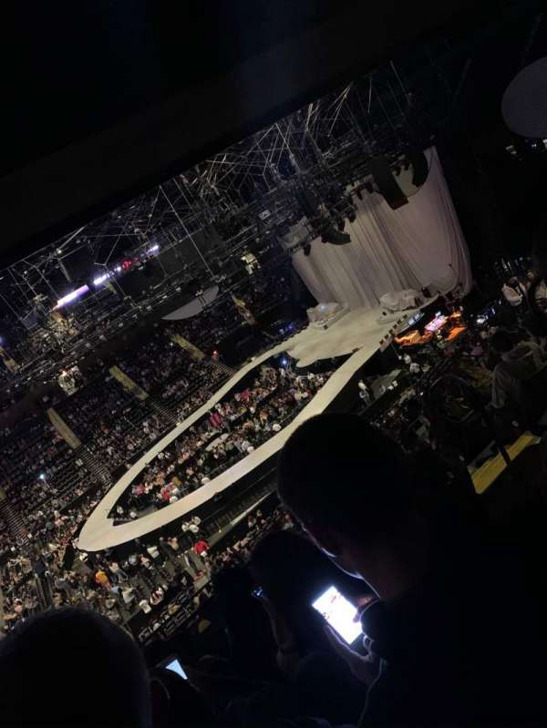 Nassau Veterans Memorial Coliseum, Bereich: 203, Reihe: 12, Platz: 4