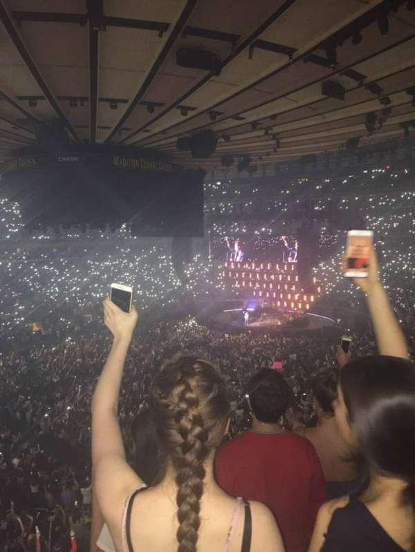 Madison Square Garden, Abschnitt: 209, Reihe: 3, Platz: 3