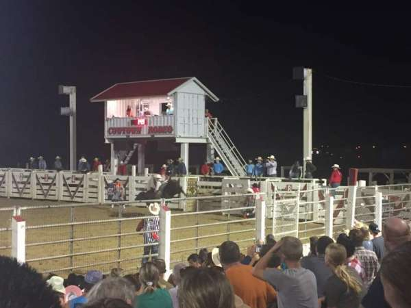 Cowtown Rodeo, Abschnitt: General Admission, Reihe: 8 , Platz: South Bleachers