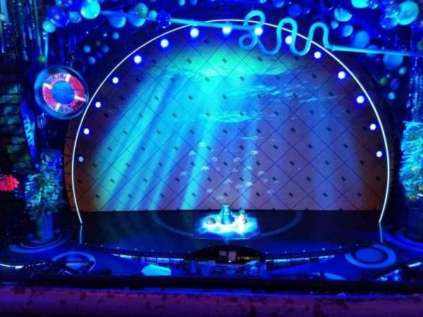 Palace Theatre (Broadway), Abschnitt: Mezzanine, Reihe: A, Platz: 107