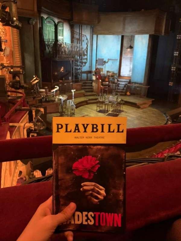 Walter Kerr Theatre, Abschnitt: Mezzanine L, Reihe: A, Platz: 19
