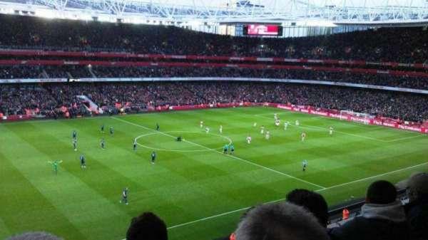 Emirates Stadium, Abschnitt: 115, Reihe: 3