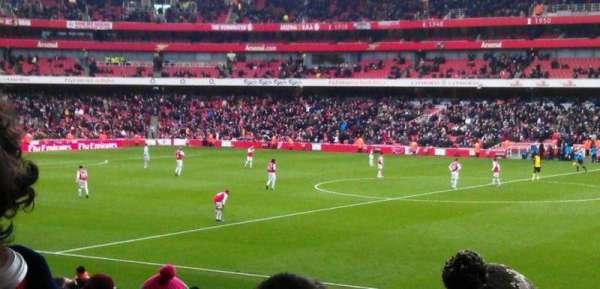 Emirates Stadium, Abschnitt: 15, Reihe: 25