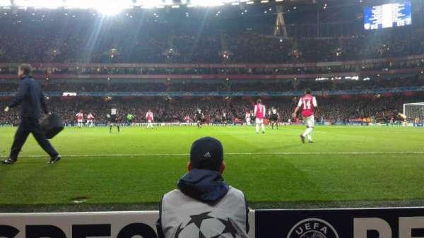 Emirates Stadium, Abschnitt: 31, Reihe: 1