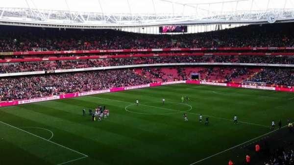 Emirates Stadium, Abschnitt: 95, Reihe: 2