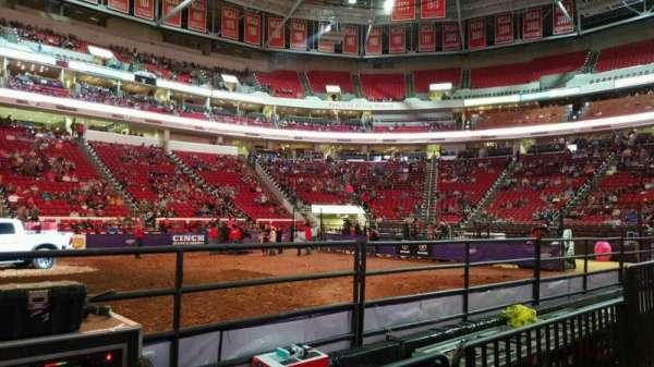 PNC Arena, Abschnitt: 104, Reihe: d, Platz: 9