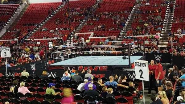 PNC Arena, Abschnitt: 118, Reihe: H, Platz: 8