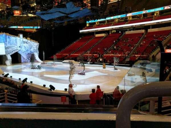 PNC Arena, Abschnitt: 130, Reihe: k, Platz: 1