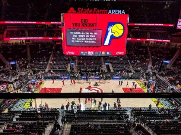 State Farm Arena, Abschnitt: 209, Reihe: A, Platz: 13