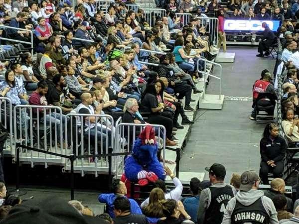 Capital One Arena, Abschnitt: 120, Reihe: O, Platz: 14