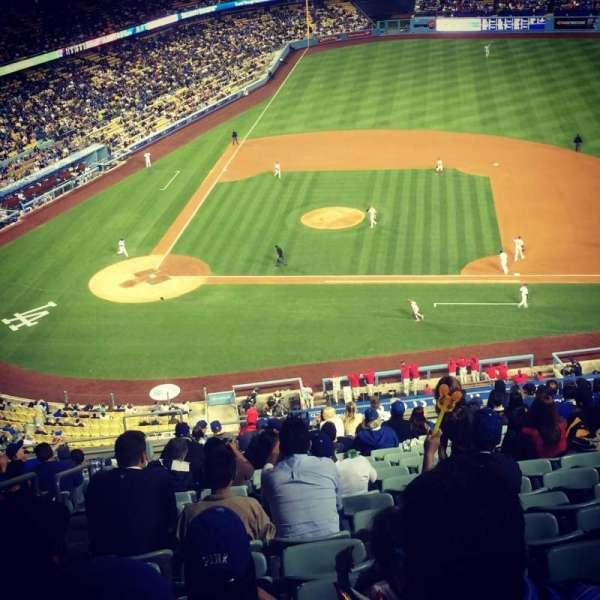 Dodger Stadium, Abschnitt: 10RS, Reihe: S, Platz: 19