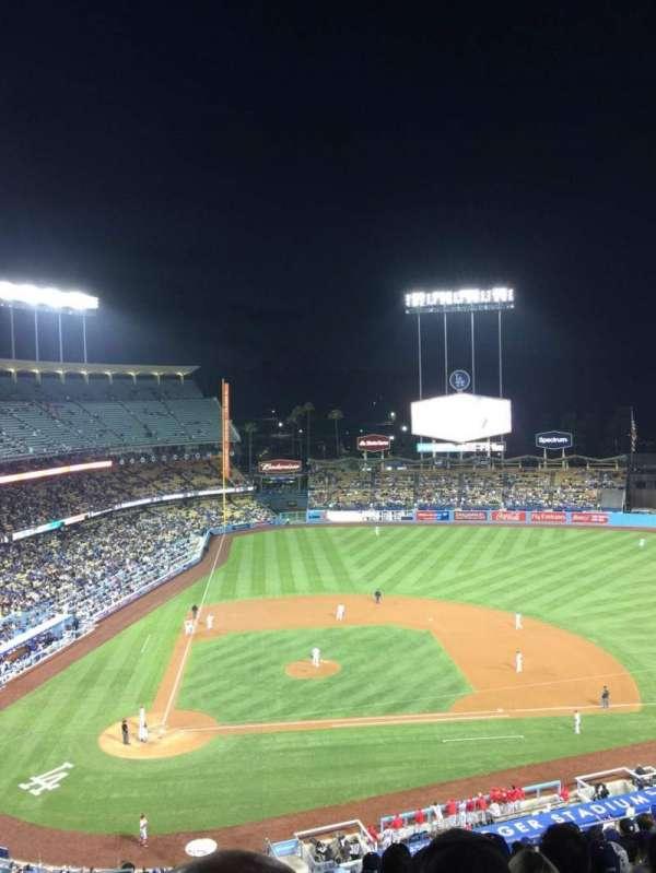 Dodger Stadium, Abschnitt: 10RS, Reihe: O, Platz: 3