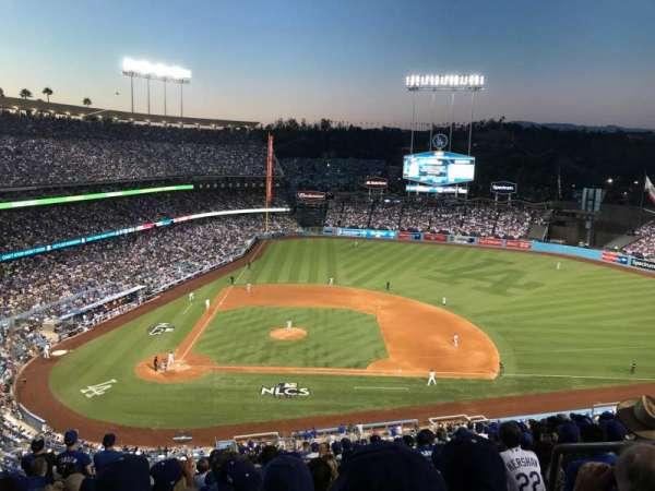 Dodger Stadium, Abschnitt: 10RS, Reihe: R, Platz: 21