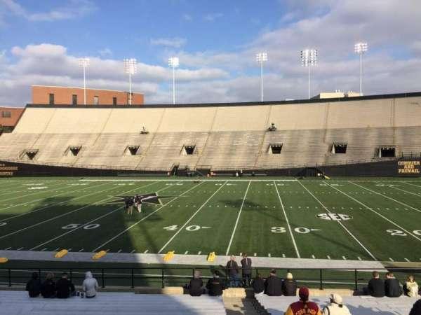 Vanderbilt Stadium, Bereich: E, Reihe: 19, Platz: 18