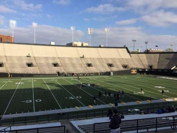 Vanderbilt Stadium, Bereich: C, Reihe: 25, Platz: 8