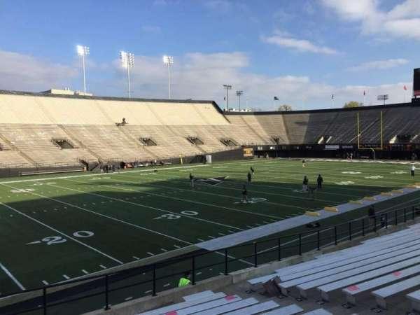 Vanderbilt Stadium, Bereich: B, Reihe: 19, Platz: 31